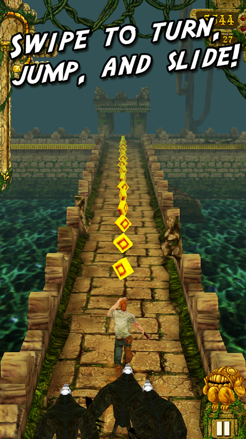 Temple Run: captura de tela