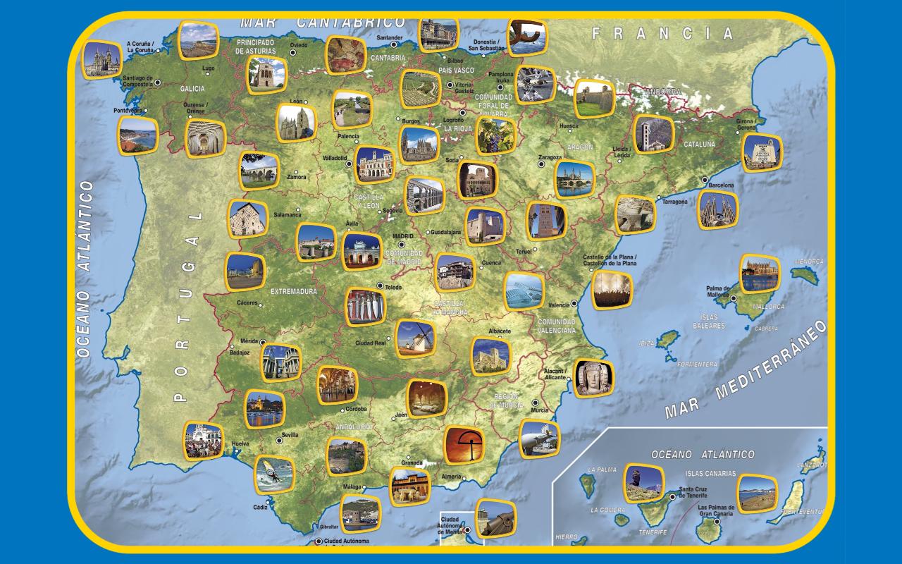 Appuzzle España - screenshot