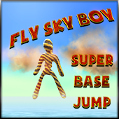 Fly Sky Boy Super base jump