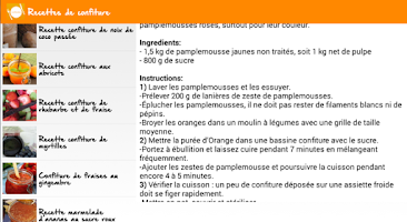 Screenshot of Recipes