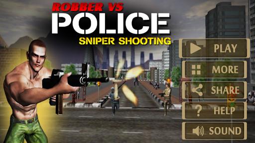 Robber vs Police Sniper Shoot