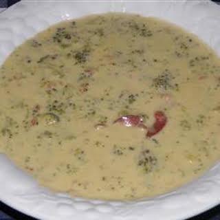 Broccoli Cheese Soup VIII.
