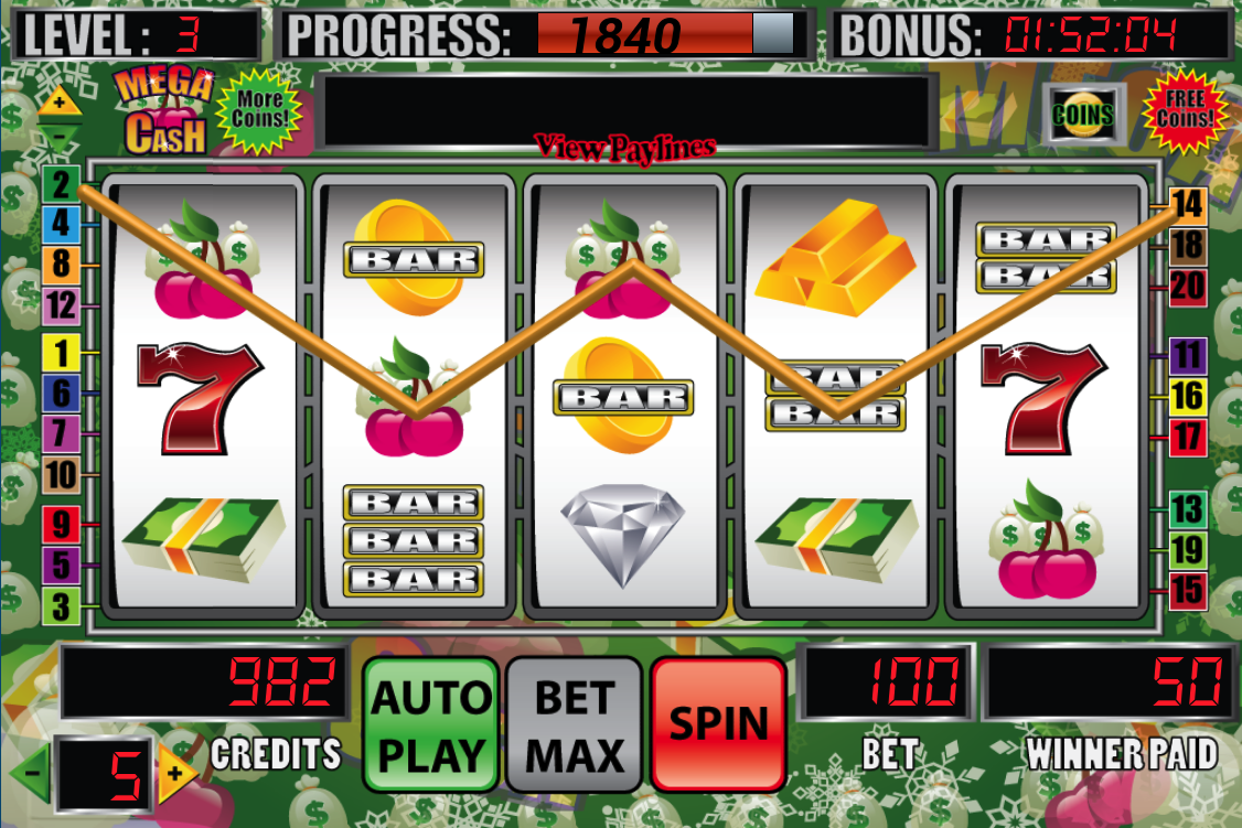 slot machine in flash