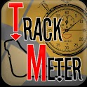 Trackmeter, track regularity. logo