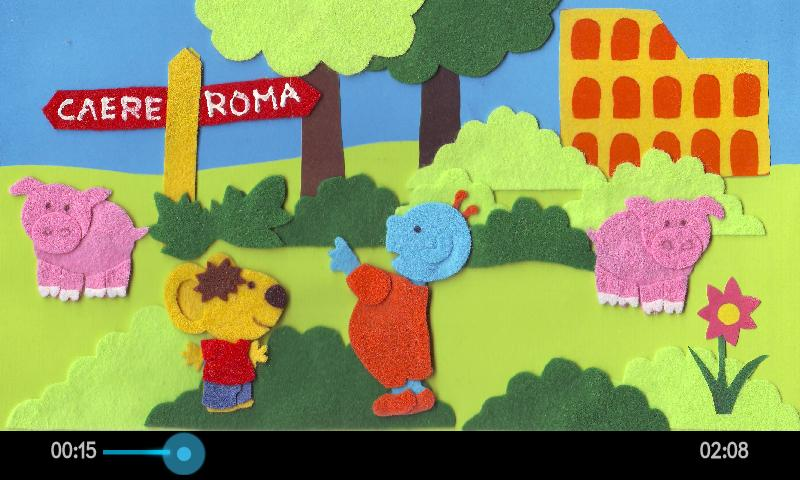 Zip&Zurp in Tarquinia!- screenshot