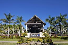 Radisson Blu Fiji Entrance