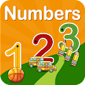 Numbers 123 Activity Book Lite icon