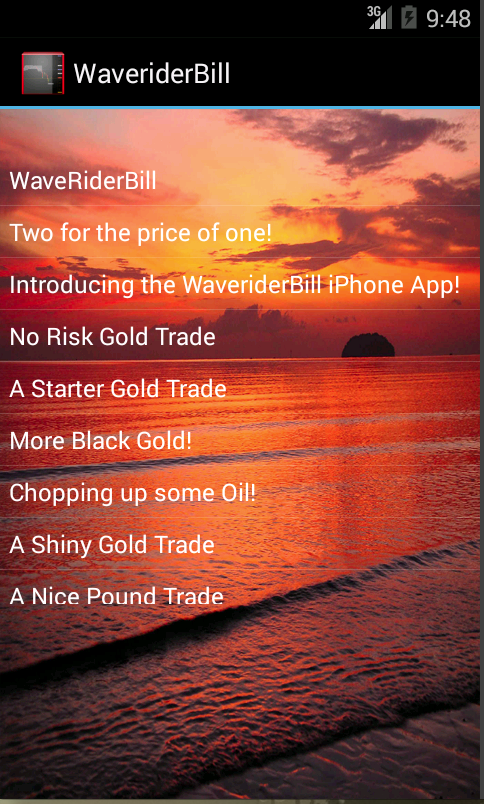Waverider Bill- screenshot