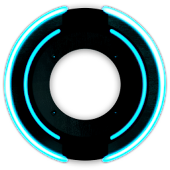 Neon Disk Live Wallpaper Lite