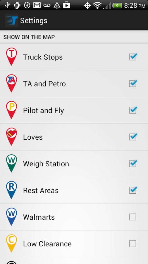 Trucker Path - Truck Stops - screenshot