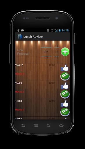 Lunch Adviser