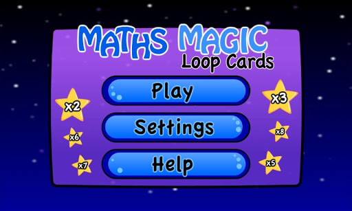 Maths Magic Loop Card