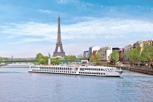 Uniworld-River-Baroness-Paris - Can you really cruise to Paris? Bien sur! Discover the iconic Eiffel Tower on a Uniworld luxury cruise to Paris aboard River Baroness.