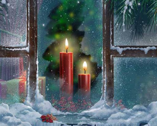 蠟燭在窗口LWP