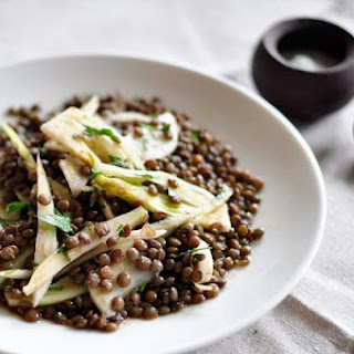 Lentil and Fennel Salad with Parsley Recipe