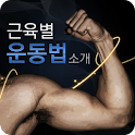 근육별 운동법 logo