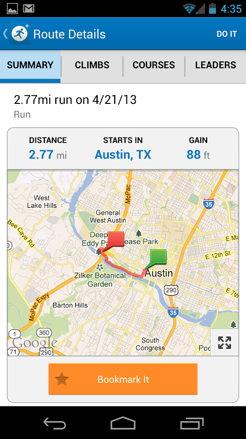 MapMyRun+ GPS Running - screenshot