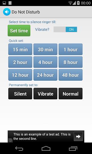 Do Not Disturb Ringer Silencer  screenshots 1