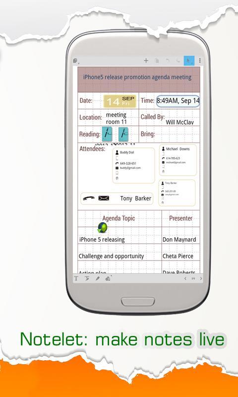 Handy Note Pro - screenshot