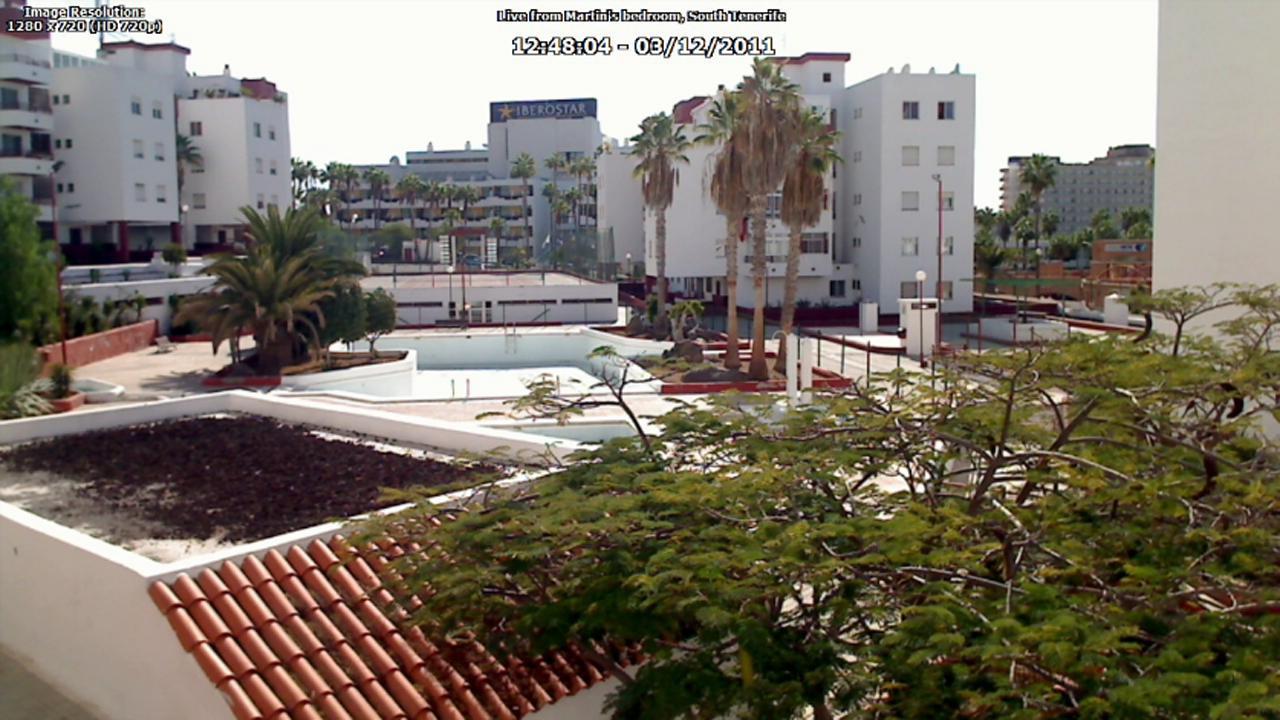 Martin In Tenerife's WebCam - screenshot