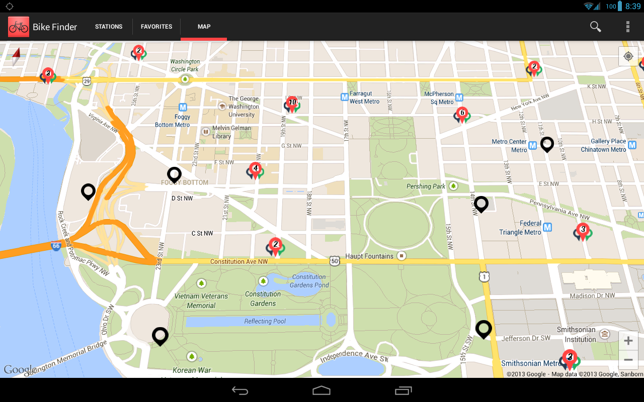 Bike Finder- screenshot