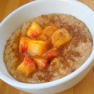 Coconut Peach Porridge