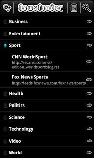 NewsFinder- screenshot thumbnail