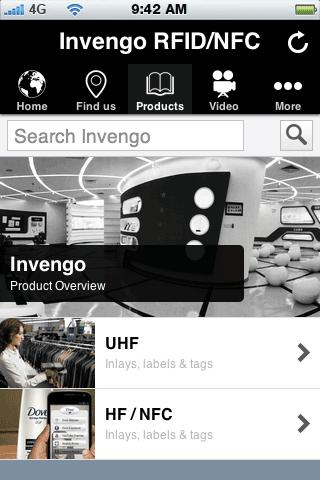 Invengo RFID NFC