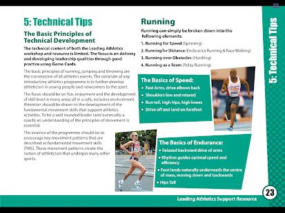 Leading Athletics - náhled