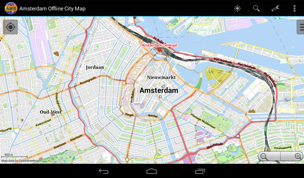 Amsterdam Offline City Map Android Apps on Google Play – Amsterdam City Centre Map Tourist