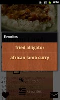 Screenshot of Cooking Recipes World Cuisine