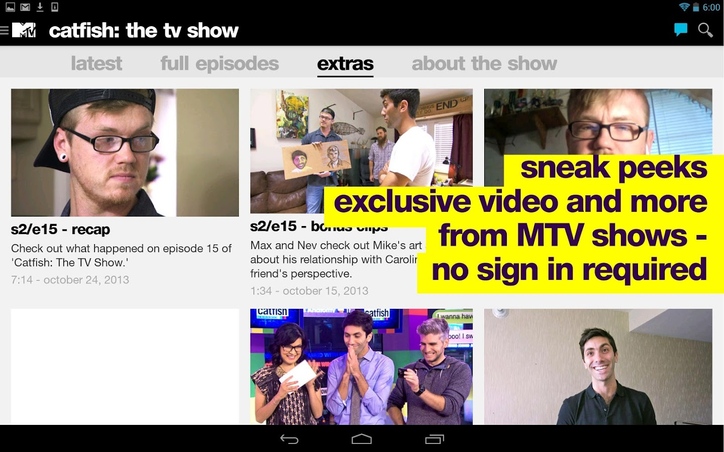 MTV - screenshot