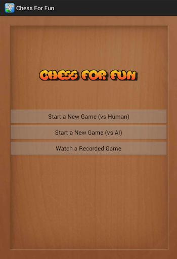 Chess For Fun