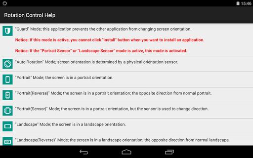 Rotation Control 1.0 screenshots 9
