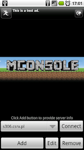 MConsole, Minecraft RCON Admin- screenshot thumbnail