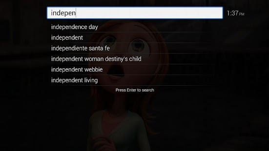 Search for TV - screenshot thumbnail