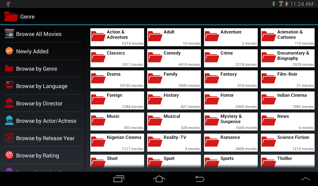 YTMovies-Pro (YouTube Movies) - screenshot