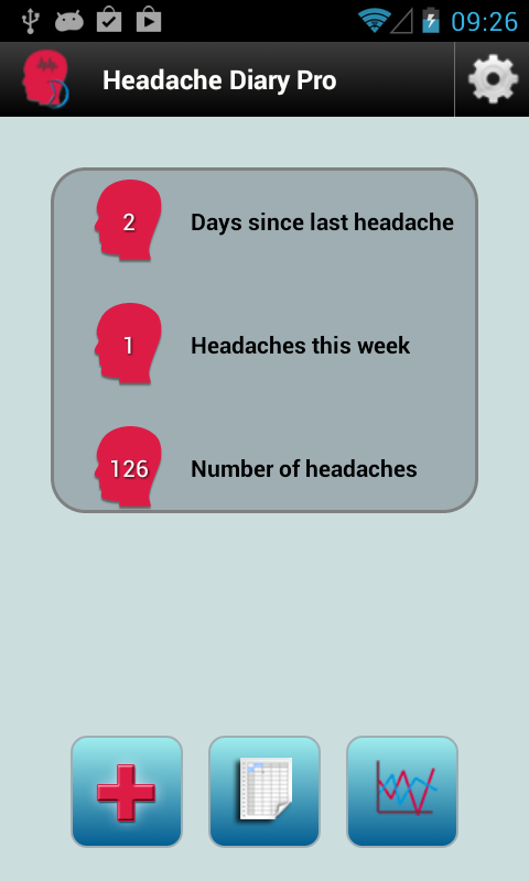 Headache Diary Pro- screenshot