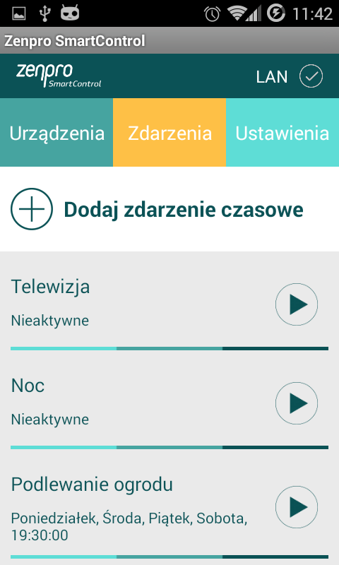Zenpro SmartControl- screenshot