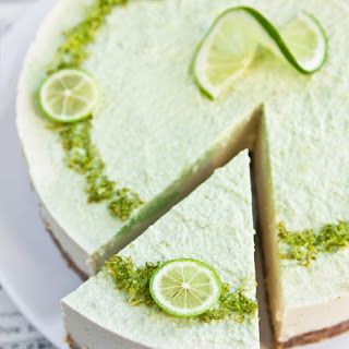 Raw Coconut Lime Cheesecake.