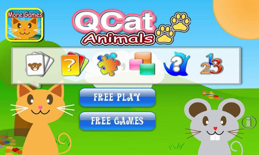 QCat-Toddler Game:Animal Free
