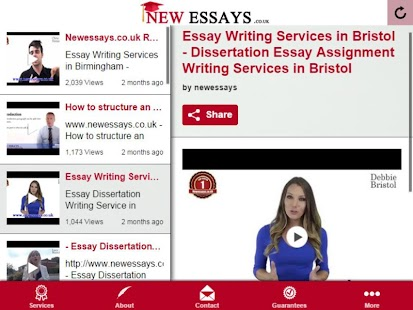 Bristol university essay writing help