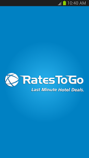 RatesToGo: Last Minute Hotels - screenshot thumbnail