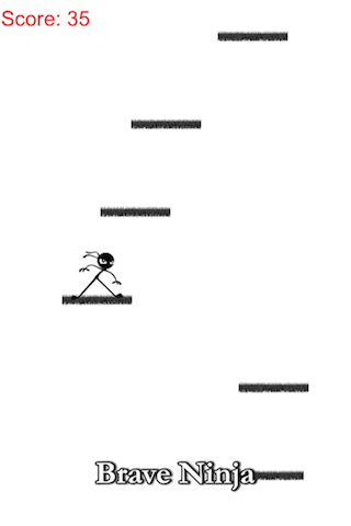 Amazing stickman ninja jump