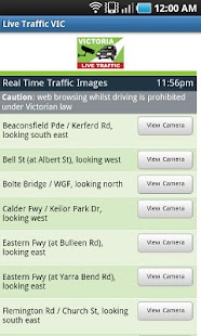 VIC Traffic View - screenshot thumbnail