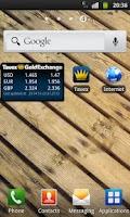 Screenshot of Gold & Exchange