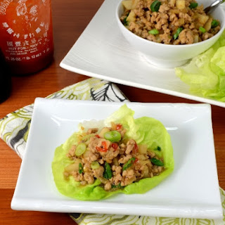 Chicken Lettuce Wraps