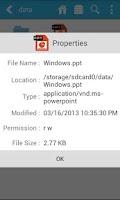 Screenshot of File Explorer Pro
