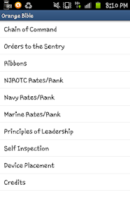 Orange Bible(NJROTC)- screenshot thumbnail