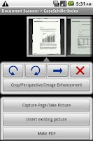 Screenshot of Document Scanner Trial
